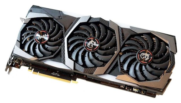 msi 2080 front