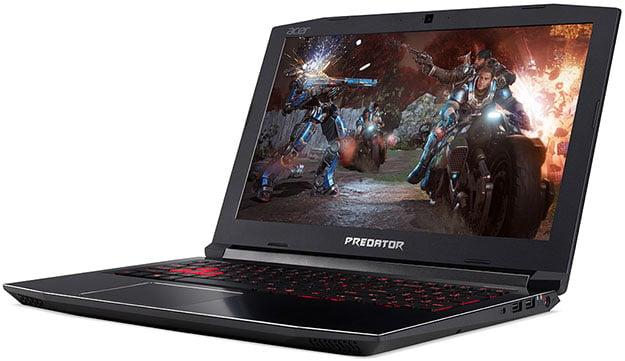 Acer Predator Helios 300 Angled