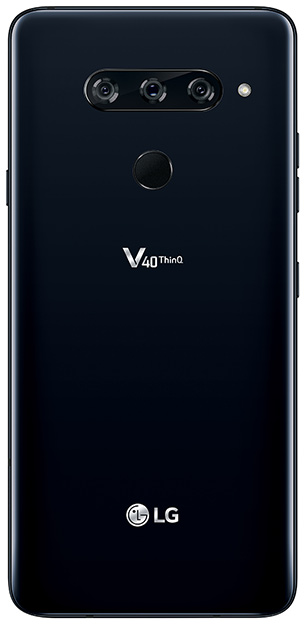lg v40 thinq back