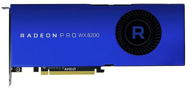 radeon pro wx 8200 front