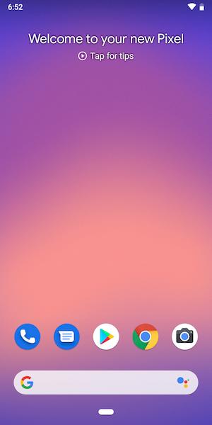 pixel 3 os 1