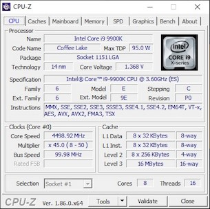 Intel Core i9-9900K CPU Review: 8-Core 9th Gen Coffee Lake