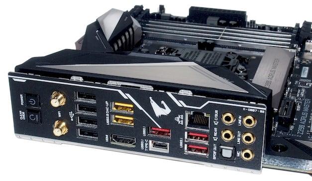 gigabyte z390 master ports