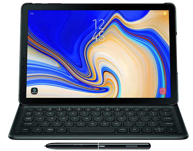 galaxy tab s4 with keyboard and pen