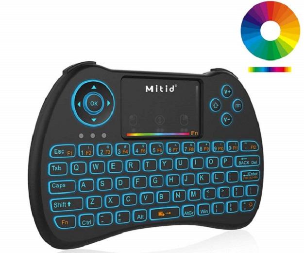 Mitid Wireless Mini Keyboard RGB