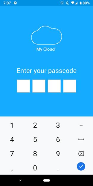 my passport wireless ssd my cloud app passcode