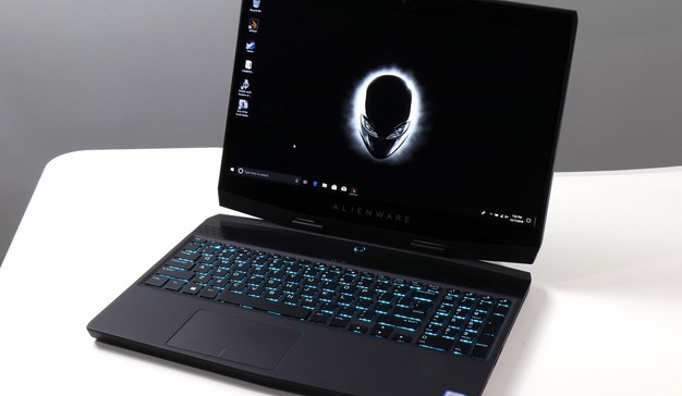 Alienware m15 full shot