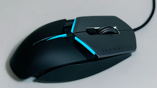Alienware AW959 Elite Mouse Length
