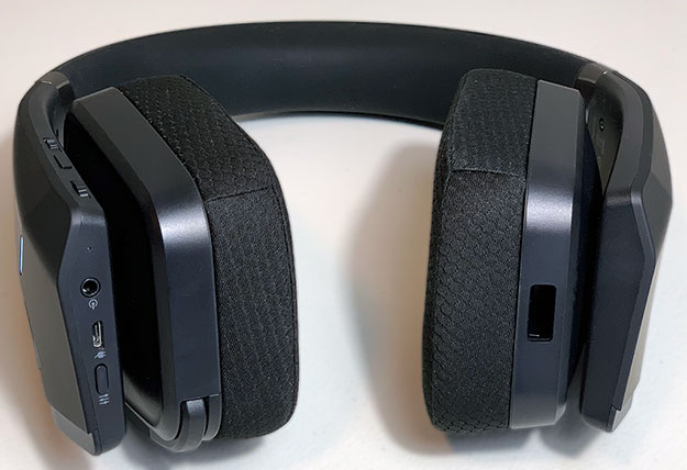 Alienware AW988 Wireless Headset Controls