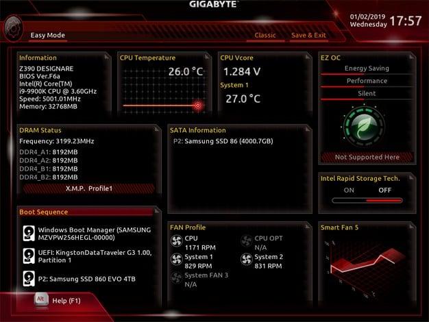 GBTZ390D BIOS 1