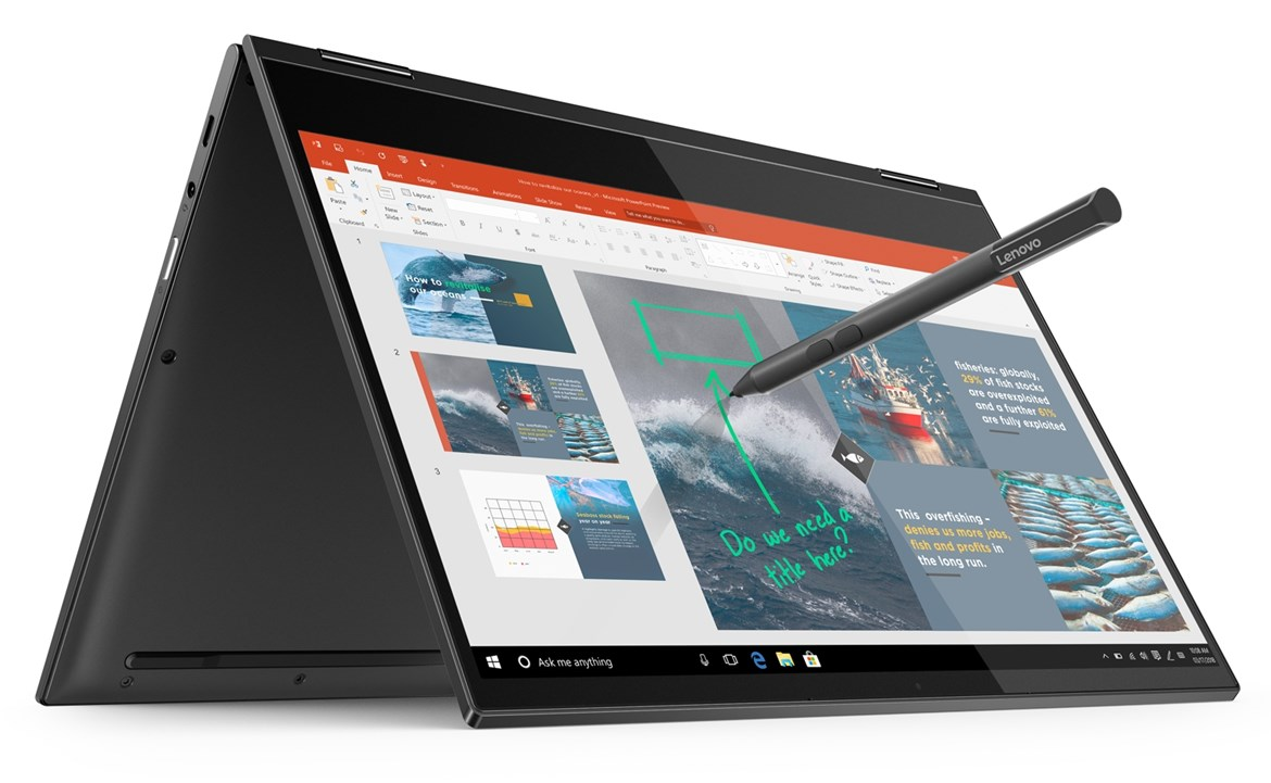 Lenovo Yoga C630 Review: Big Battery Life, Always Connected