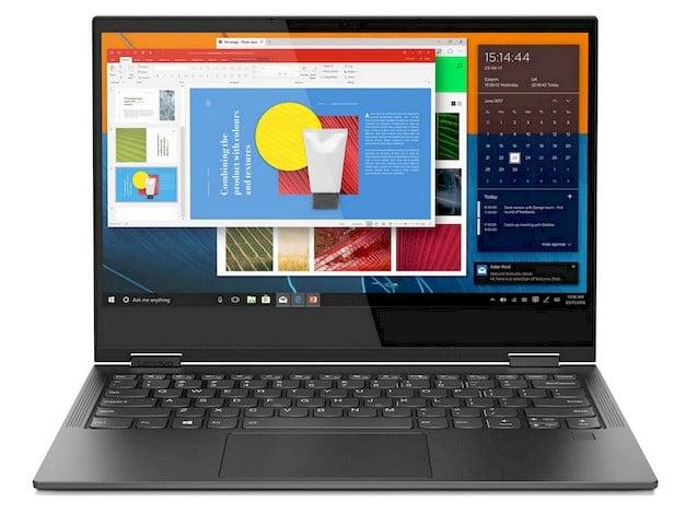 Multitasking on Lenovo Yoga C630 WOS edited