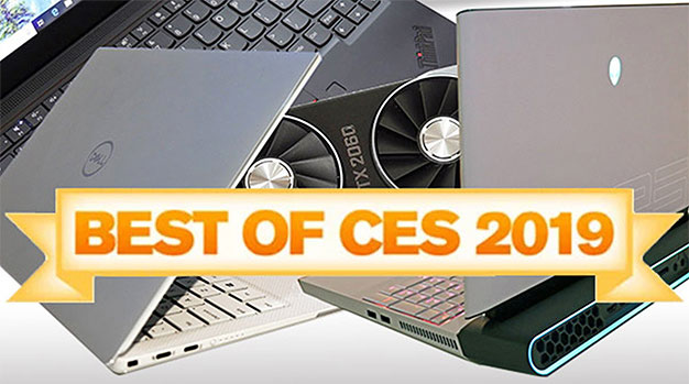 HotHardware's Best Of CES 2019: Laptops, Displays, Systems