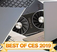 HotHardware's Best Of CES 2019: Laptops, Displays, Systems And More