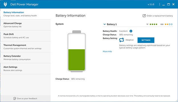 Dell XPS 13 Battery