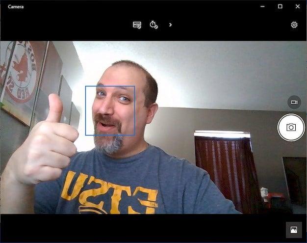 Dell XPS 13 Webcam Photo