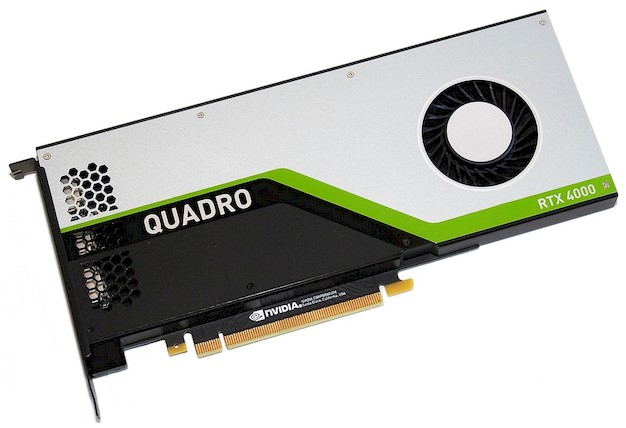 NVIDIA Quadro RTX 4000 Review: Turing Powered Pro Graphics