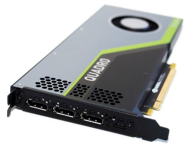 NVIDIA Quadro RTX 4000 Review: Turing Powered Pro Graphics