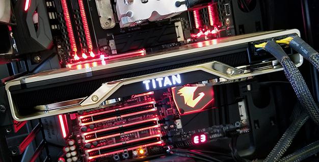 rtx titan installed