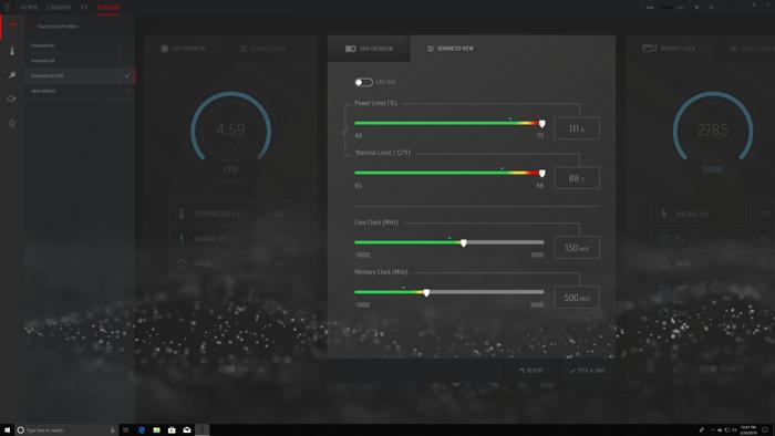 alienware aurora r8 command center fusion custom oc profile
