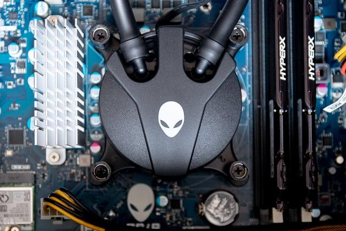 alienware aurora r8 cpu cooler