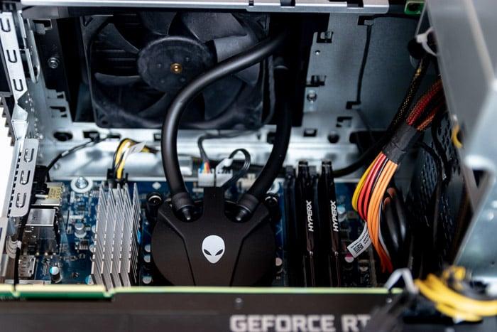 alienware aurora r8 top radiator