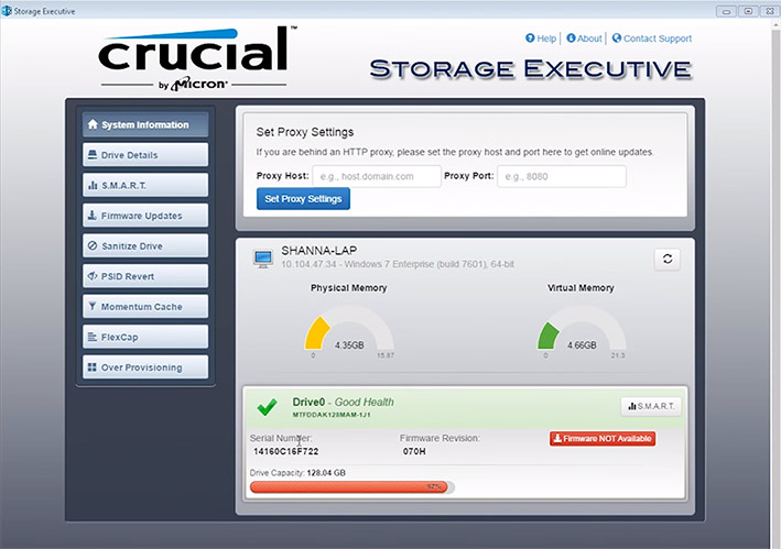 crucial storage exec