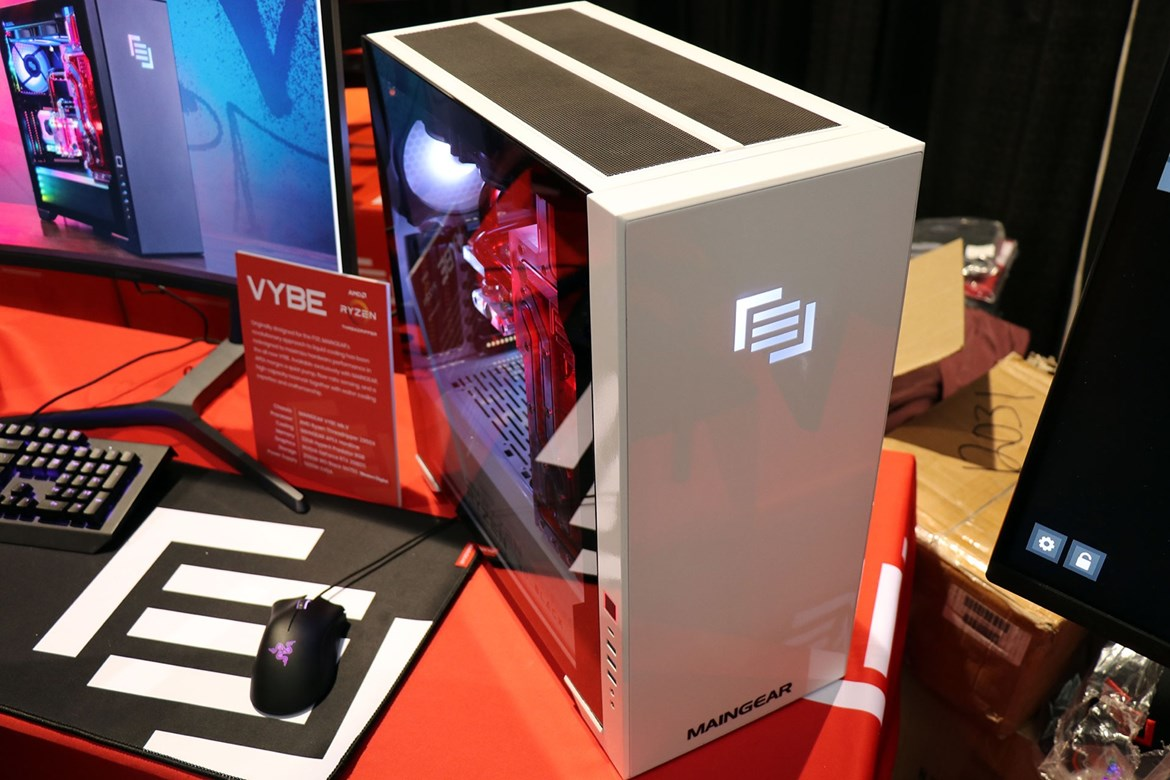 Maingear Vybe 2019 Review: Fast, Quiet, Clean, And Ready To Ship