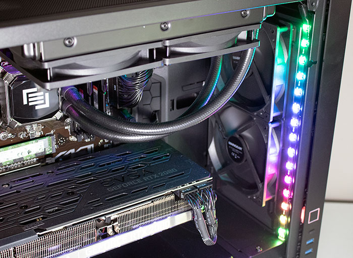 Maingear Vybe Front Fans