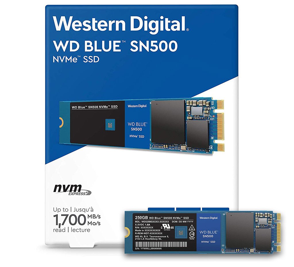 WD Blue SN500 SSD Review: NVMe Performance, Dirt Cheap