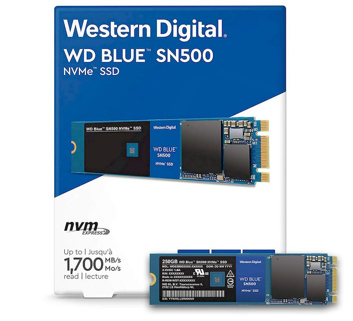 WD Blue SN500 SSD Review: NVMe Performance, Dirt Cheap | HotHardware