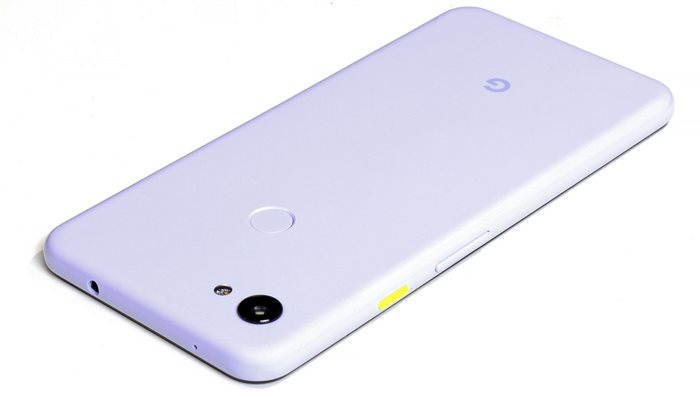 Google Pixel 3a XL top power button