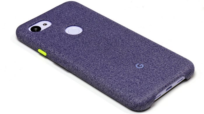 Google Pixel 3a XL with case
