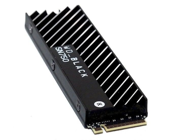 wd sn750 heatsink connector