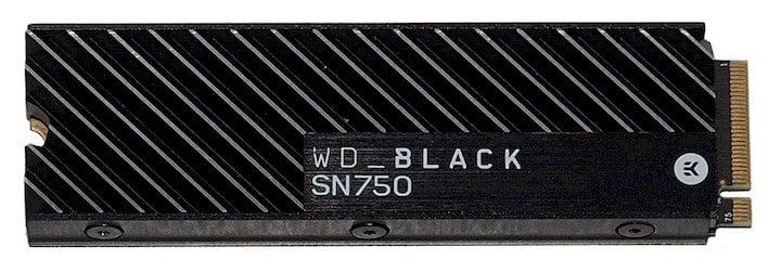 wd sn750 heatsink flat