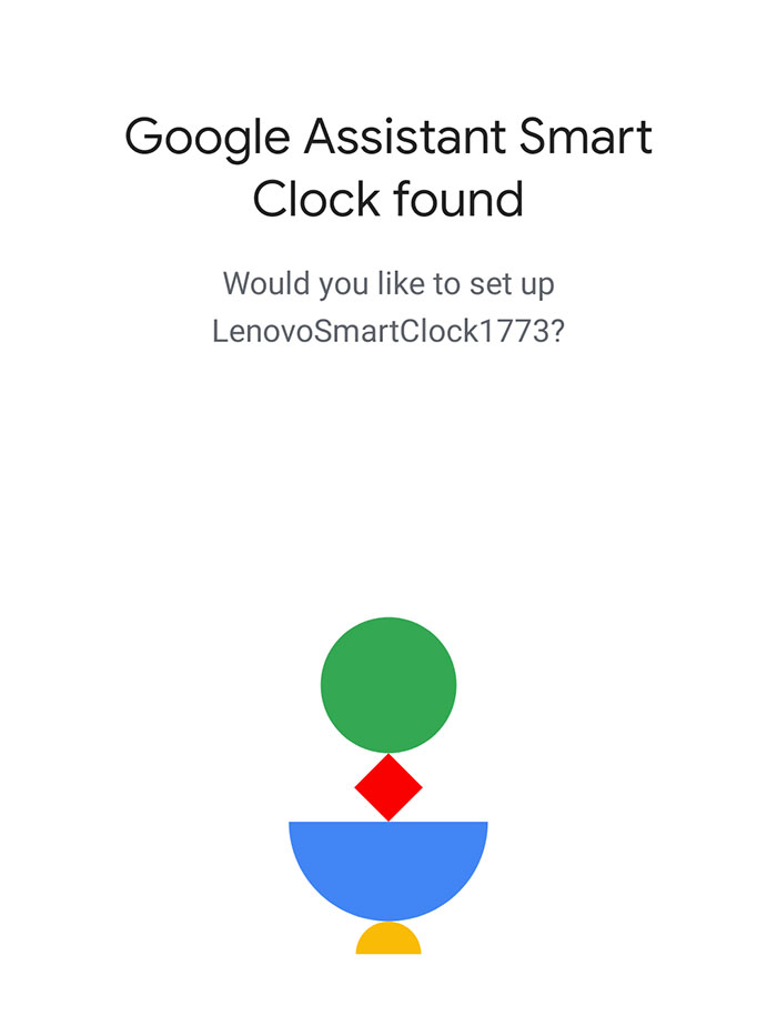 lenovo smart clock google assistant google home app