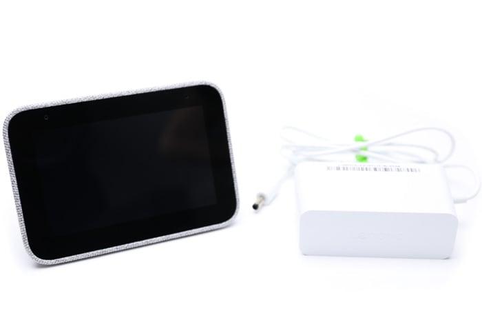 lenovo smart clock google assistant power adapter