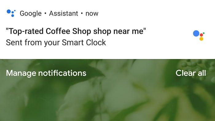 lenovo smart clock google assistant sent information