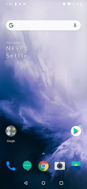 OnePlus 7 Pro Home Screen