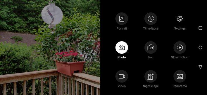 OnePlus 7 pro camera settings