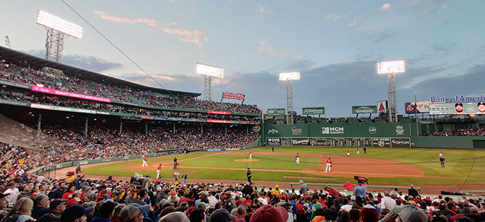 fenway park red sox game oneplus 7 pro wide angle