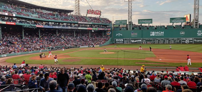 fenway park red sox game oneplus 7 pro