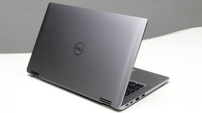 latitude 7400 2 in 1 back edge open angle