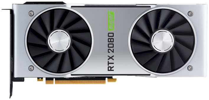 geforce rtx 2080 super front