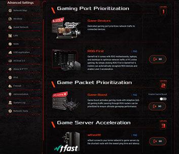 ASUS ROG Rapture GT-AX11000 Game Acceleration