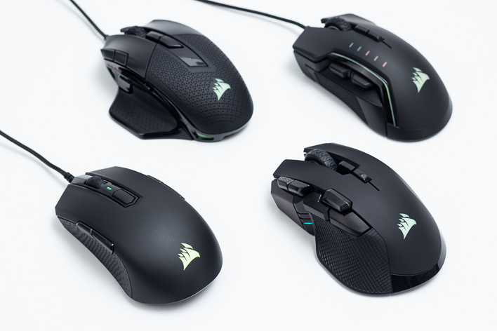 Corsair RGB Gaming Mouse Round-Up: M55, Glaive Pro