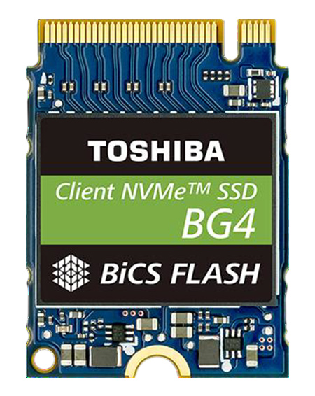 Toshiba BG4 SSD Review: Mini But Mighty NVMe Storage