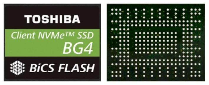 toshiba bg4 chips