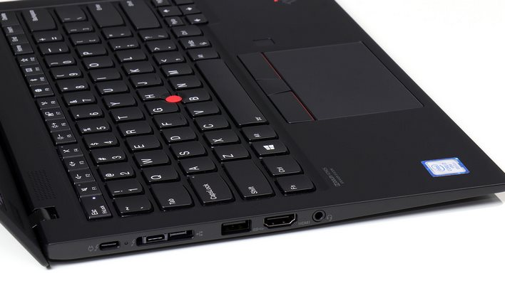 ThinkPad X1 Carbon carbon ports left