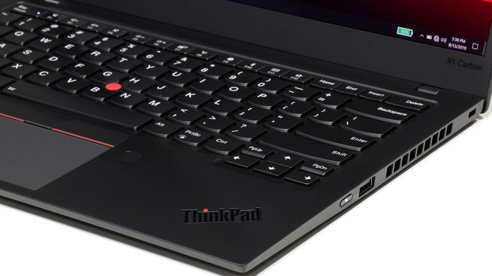 ThinkPad X1 Carbon carbon ports right